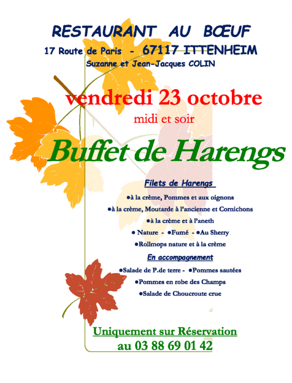 10 14 buffet de harengs oct 2015