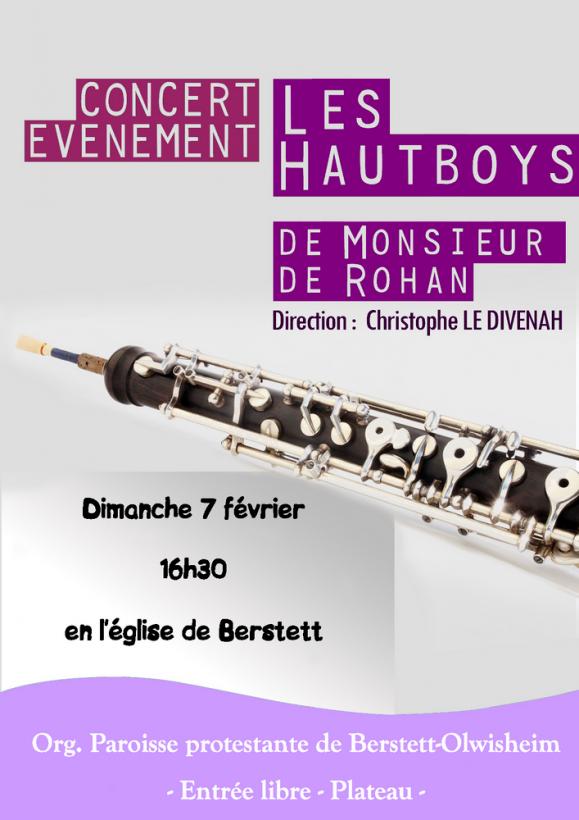 01 26 concert hautboys de monsieur de rohan berstett