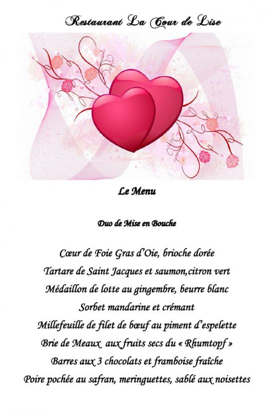 01 29 la cour de lise le menu saint valentin 2016