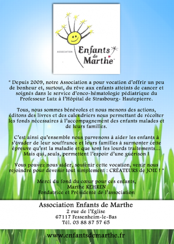 association enfants de marthe fessenheim le bas
