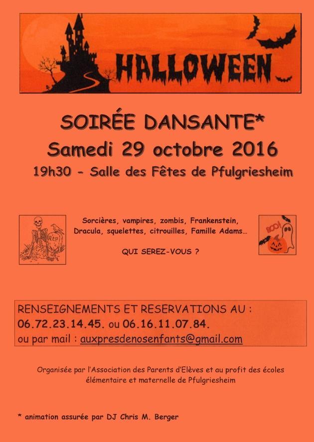2016 10 18 pfulgriesheim soiree dansante halloween