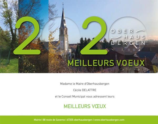 2020 01 07 carte de voeux de la mairie de oberhausbergen