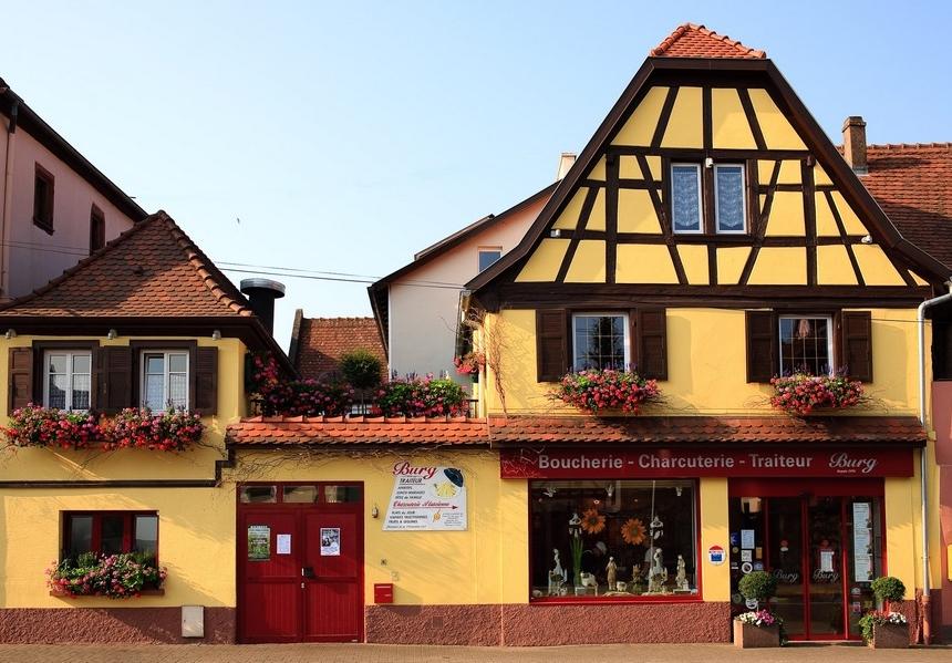 La Boucherie Burg à Marlenheim