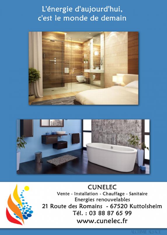 Cunelec chauffage et sanitaire kuttolsheim